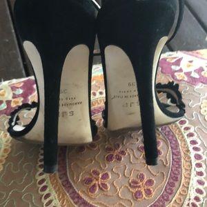 SJP by Sarah Jessica Parker Shoes - SJP Jessa heels in black suede size 39, 9